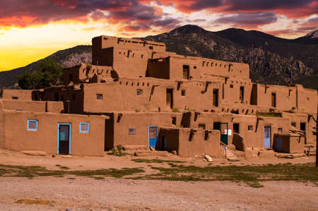 Ancient City of Taos, New Mexico USA