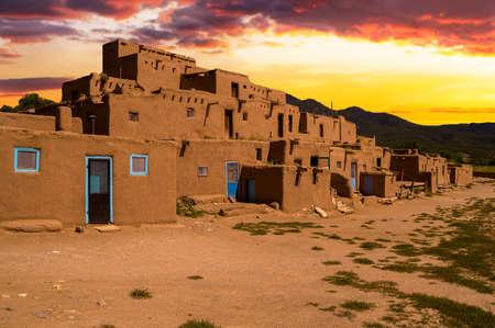 new mexico: Ancient City of Taos, New Mexico USA