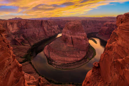 magnificent: Amazing Vista of Horseshoe Bend in Page, Arizona