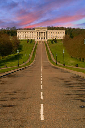 Beautiful Parliament Building.  Stormont in Northern Ireland photo