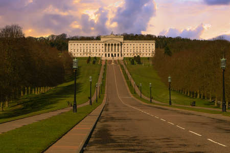 northern ireland: Beautiful Parliament Building.  Stormont in Northern Ireland