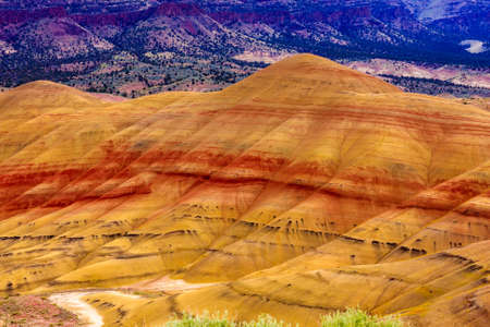 Beautiful Image of Painted Hills National Monument in Oregon, USA Imagens