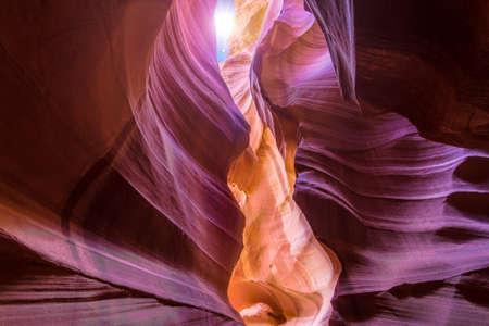 Inspirerende afbeelding genomen in Antelope Canyon