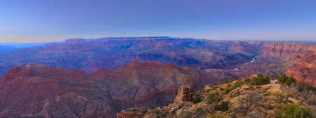 rock formations: Beautiful Landscape of Grand Canyon from Desert View Point during dusk