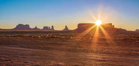 Amazing Sunrise Image of Monument Valley