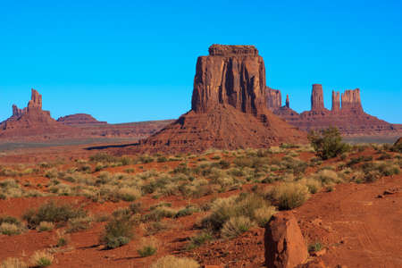 tribal park: Amazing Daytime Image of Monument Valley