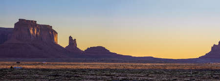 Amazing Sunrise Image of Monument Valley