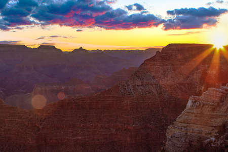 Inspiring Image of the Grand Canyon during Sunrise
