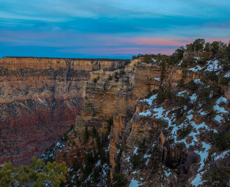 Amazing Sunrise Image of the Grand Canyon taken from Hermest Trail Imagens