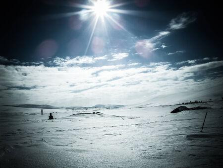 Scandinavian winter photo