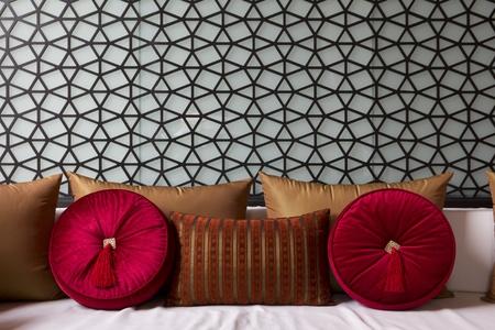 coussins: Canap� avec un coussin canap� Decorateed fantaisie