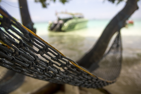 getting away from it all: Relax on Hammock