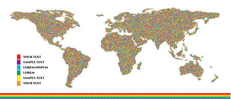 Same sex family infographics set with charts and world map vector illustration. Gay ainfographic art. Useful infographic template. Doted colorful rainbow.