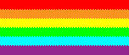 Vertical Striped Abstract colorful rainbow background.  イラスト・ベクター素材