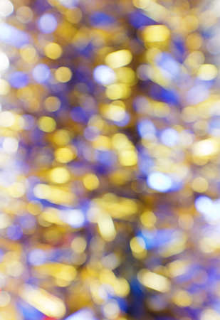 frippery: Abstract defocused lights christmas background. Out-of-focus bokeh at apperture. Useful for photomontage.