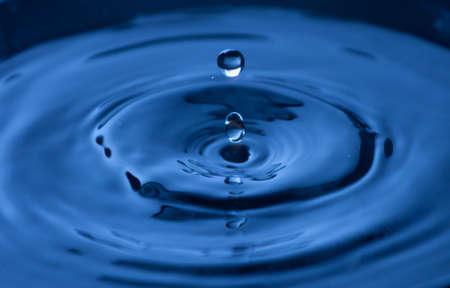 befagyasztására csepp víz, közelkép