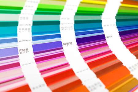 open color guide swatch, closeup