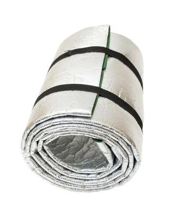 lightweight: Lightweight Foam Sleep Mat isolated on white Stock Photo