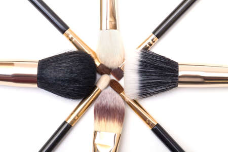 Makeup Brush Set, on white background