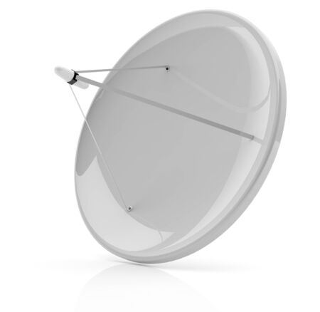 Satellite dish - 3d model