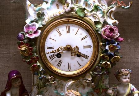Old antique clock Stock Photo - 11808329