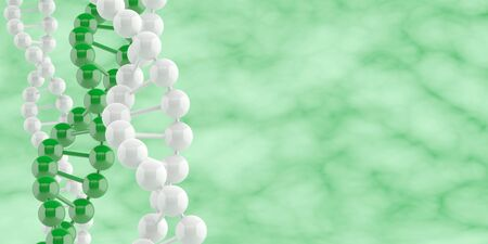 DNA banner. Science biology concept.  Stock Photo - 11969405