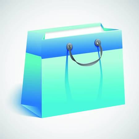 Gift shopping bag. Stock Vector - 17179962