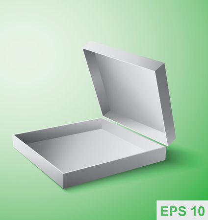 Packaging box. Vector object Illustration