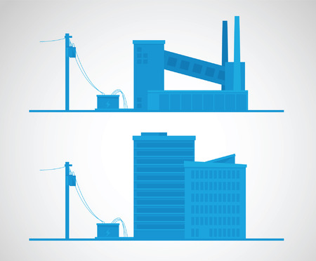 Energy concept. Electricity vector illustration Illustration