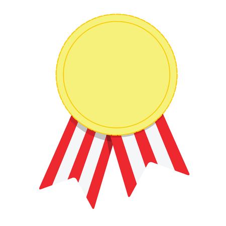 Reward sign. Vector success symbol Illustration