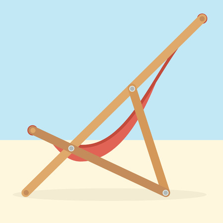 lounging: Lounge. Travel vector concept.