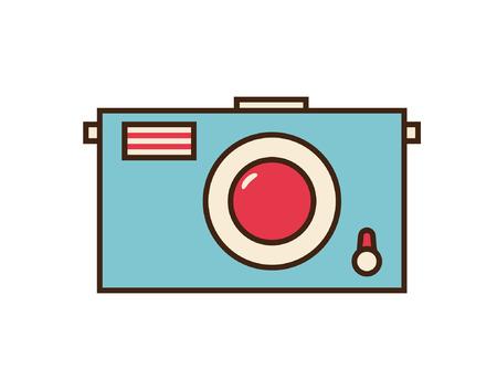 Photo icon. Camera vector button.