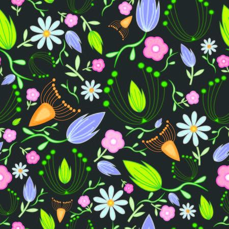 spring summer floral pattern