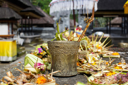 temple gifts in Indonesia Stock Photo