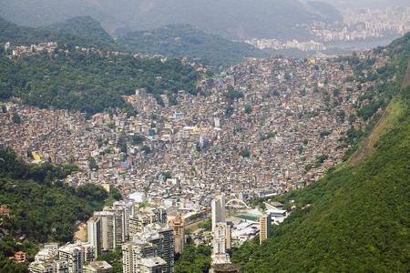 janeiro: Rio de Janeiro Favela Stock Photo