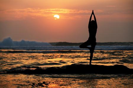 vriksasana: yoga