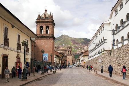 plaza of arms: peru