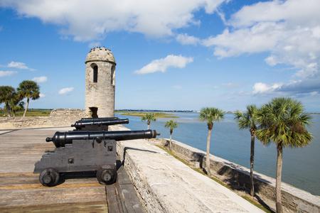 marcos: Canons at Castillo de San Marcos, St. Augustine, Florida