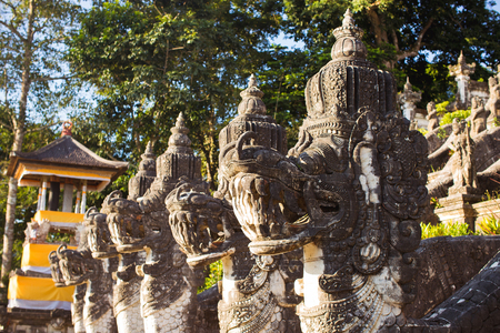 bali: Dragon Stairs in Lempuyang temple in Bali, Indonesia