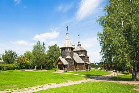 Suzdal, 러시아에서 오래 된 목조 교회