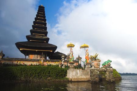 Bali, Indonesia. Temple Pura Ulun Danu Bratan