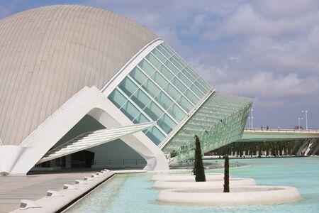 VALENCIA, SPAIN - JULY 27, 2016: City of the Arts and Sciences, Valencia, Spain