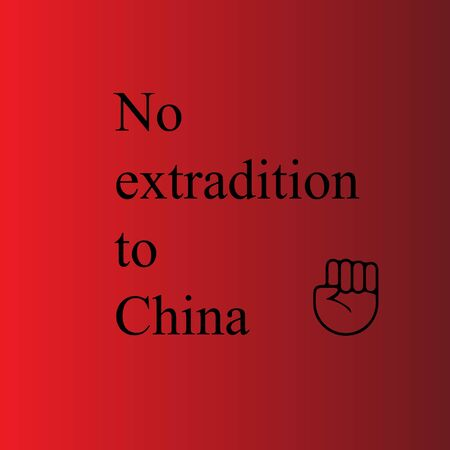 no extradition to china on red