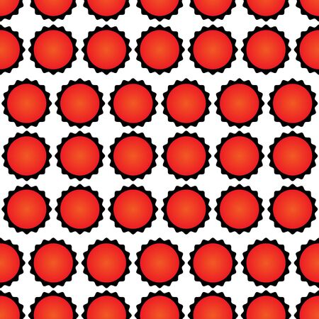 pattern microscopic Bacterial Microorganism Vector. Unhealthy Danger Red Viral Bacterial Organism. Epidemic Dangerous Virus Infection Bacteria Concept Illustration