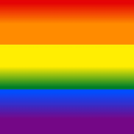 Lgbt pride flag, 6 colors gradient, law lgbtq, gay, lesbian, homosuxalists parade freedom, tolerance love vector.  イラスト・ベクター素材