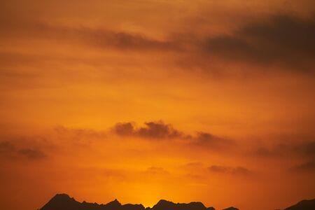 oman: Oman sunset mountains