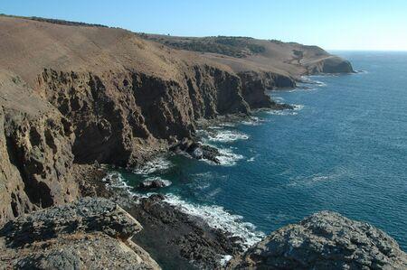 Coastal cliffs, Kangaroo Island, South Australia