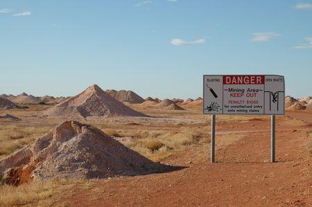 Opal mines, Coober Pedy, South Australia Reklamní fotografie
