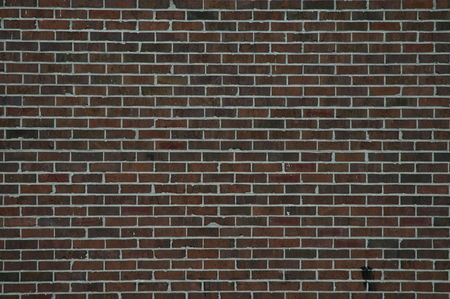 redbrick: Brick wall, historic district, Savannah, Georgia Stock Photo