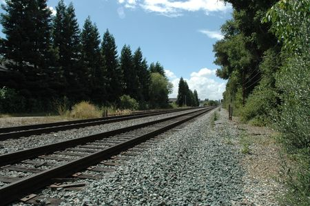 constitutionality: Tracks used by Caltrain, a commuter rail line to San Francisco, California